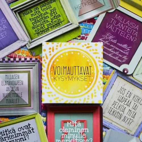 Voimaa rakastamiseen parisuhteessa –kortit